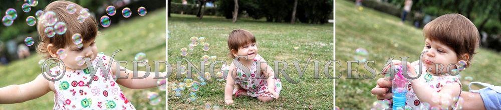 13 sedinta foto video in parc pentru copii si bebelusi filmari si fotografii profesionale bucuresti