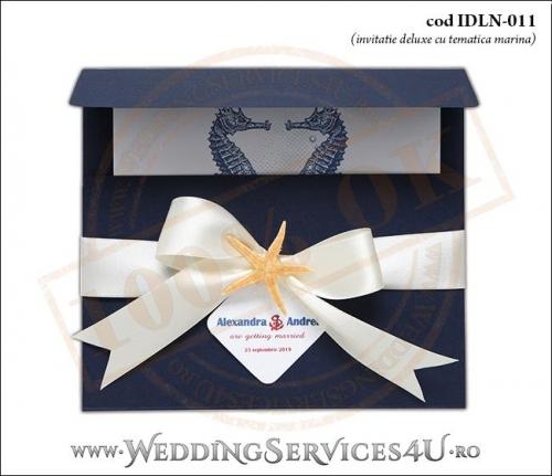 Invitatie_Deluxe_Nunta_IDLN-011-01-Tematica.Marina.cu.stea.de.mare.si.fundita