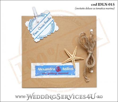 Invitatie_Deluxe_Nunta_IDLN-015-01-Tematica.Marina.cu.stea.de.mare.si.funie