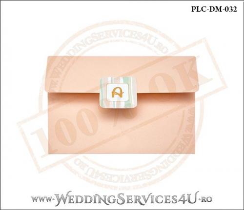 Plic Invitatie Nunta-Botez PLC-DM-032-1 Peach