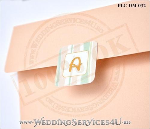 Plic Invitatie Nunta-Botez PLC-DM-032-2 Peach