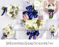buchete de mireasa si sau nasa lumanari si aranjamente decoratiuni florale pentru cununia civila biserica si sala restaurant bucuresti