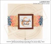 Invitatie_Deluxe_Nunta_Botez_IDLN-019-01_cu_floarea_soarelui
