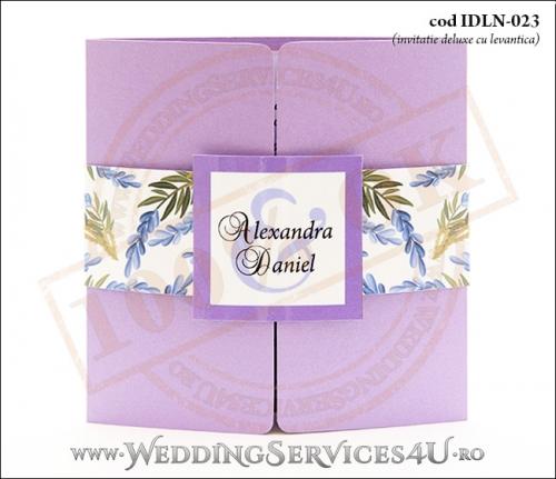 Invitatie_Deluxe_Nunta_Botez_IDLN-023-01_cu_levantica
