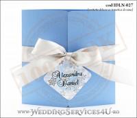 Invitatie_Deluxe_Nunta_Botez_IDLN-027-01_bleu_sidefat_cu_tematica_de_iarna