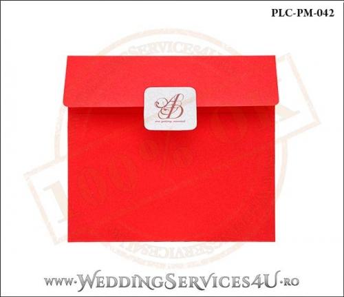 Plic Patrat Invitatie Nunta-Botez PLC-PM-042-01