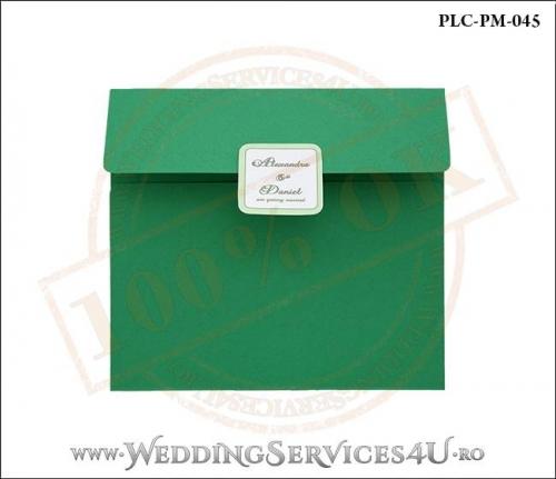 Plic Patrat Invitatie Nunta-Botez PLC-PM-045-01