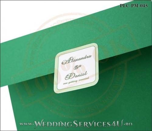 Plic Patrat Invitatie Nunta-Botez PLC-PM-045-02