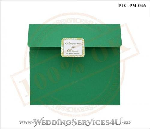 Plic Patrat Invitatie Nunta-Botez PLC-PM-046-01