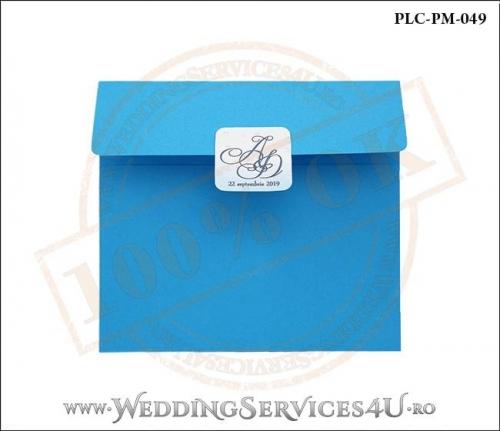 Plic Patrat Invitatie Nunta-Botez PLC-PM-049-01
