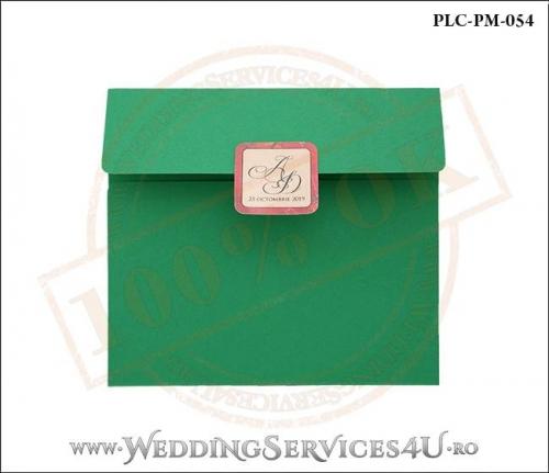 Plic Patrat Invitatie Nunta-Botez PLC-PM-054-01