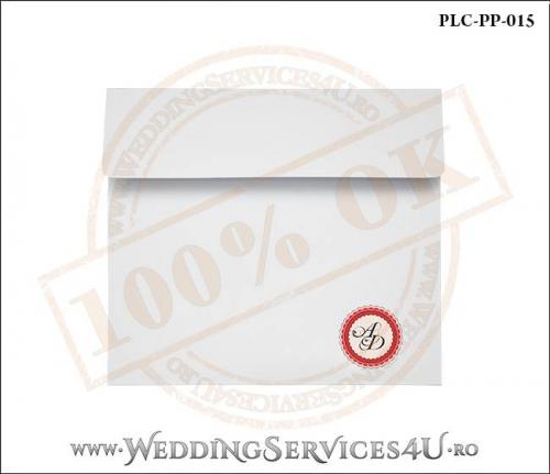 Plic Patrat Invitatie Nunta-Botez PLC-PP-015-01
