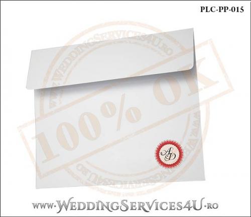 Plic Patrat Invitatie Nunta-Botez PLC-PP-015-02