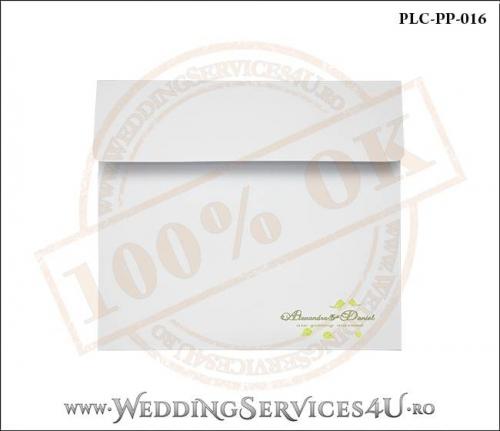 Plic Patrat Invitatie Nunta-Botez PLC-PP-016-01