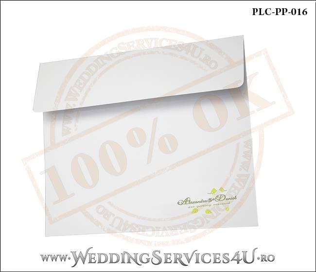 Plic Patrat Invitatie Nunta-Botez PLC-PP-016-02