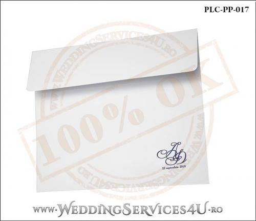 Plic Patrat Invitatie Nunta-Botez PLC-PP-017-02