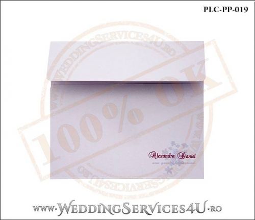Plic Patrat Invitatie Nunta-Botez PLC-PP-019-01+