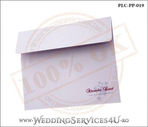Plic Patrat Invitatie Nunta-Botez PLC-PP-019-02+