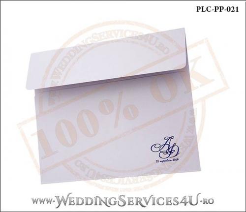 Plic Patrat Invitatie Nunta-Botez PLC-PP-021-02+