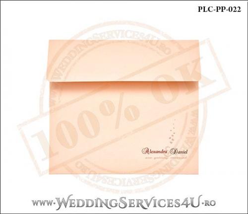 Plic Patrat Invitatie Nunta-Botez PLC-PP-022-01+