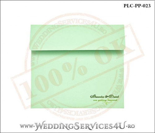 Plic Patrat Invitatie Nunta-Botez PLC-PP-023-01+