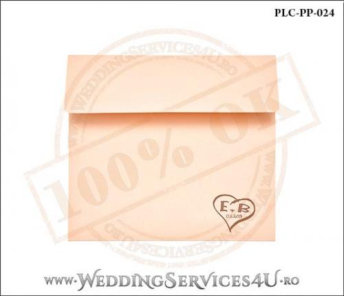 Plic Patrat Invitatie Nunta-Botez PLC-PP-024-01+