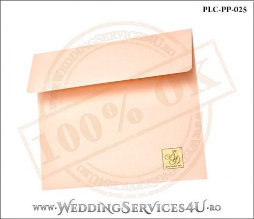 Plic Patrat Invitatie Nunta-Botez PLC-PP-025-02+