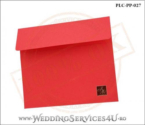 Plic Patrat Invitatie Nunta-Botez PLC-PP-027-02+