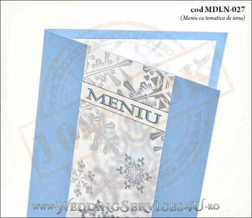 MDLN-027-02_meniu_nunta_botez_cu_stele_de_gheata_bleu_sidefat