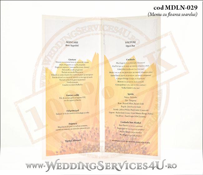 MDLN-029-04_meniuri_nunta_botez_cu_flori_de_floarea_soarelui