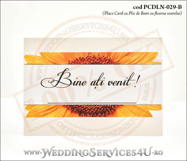 PCDLN-029-B_place_card_deosebit_nunta_botez_cu_floarea_soarelui