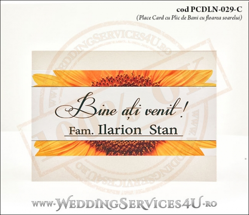 PCDLN-029-C-01_plic_de_bani_cnunta_romaneasca_botez_romanesc_cu_flori_de_floarea_soarelui