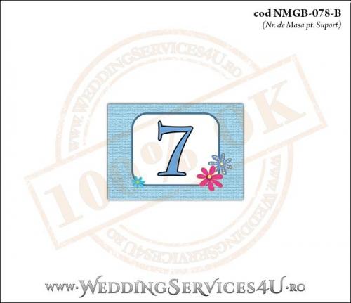 NMGB-078-B Numar de Masa pentru Botez cu Barza (baby delivery)