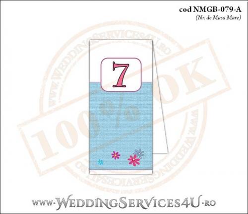 NMGB-079-A Numar de Masa pentru Botez cu Barza (baby delivery)